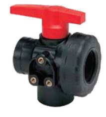 3 way ball valve L port